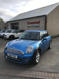2011 MINI HATCH ONE 1.6 ONE D PIMLICO 3d 89 BHP £4695.00