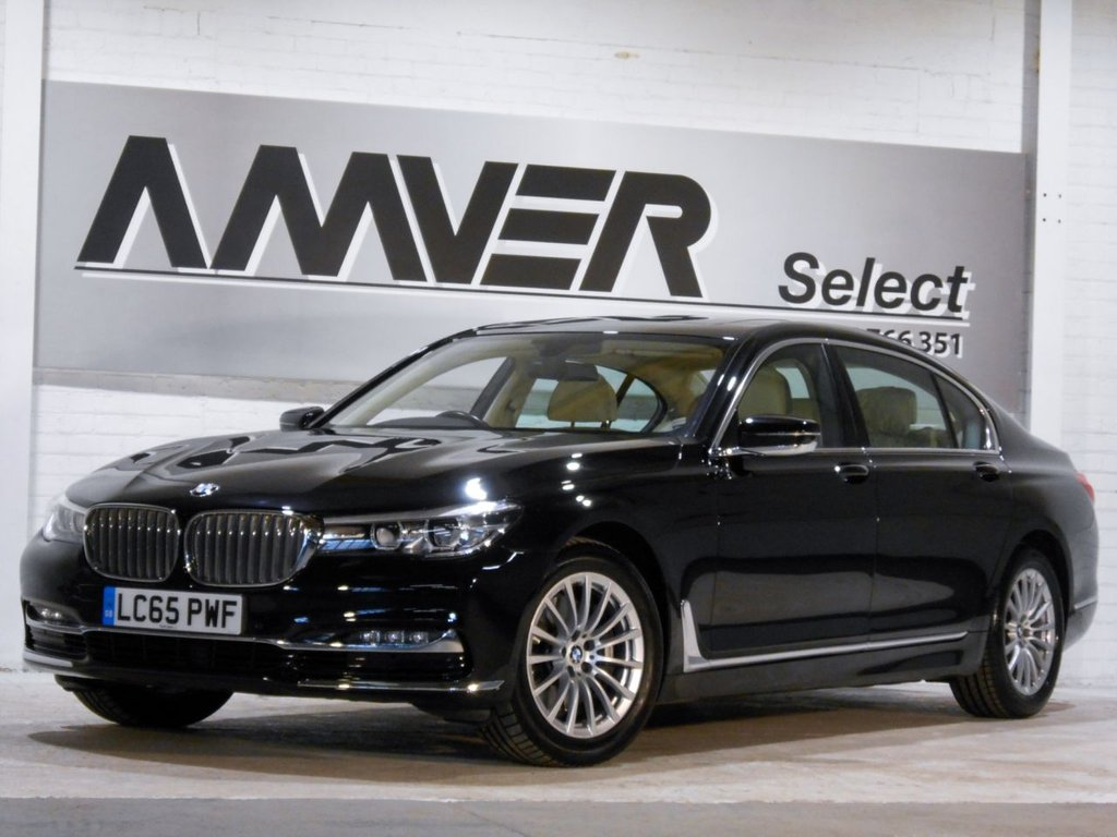 USED 2015 65 BMW 7 SERIES 3.0 730LD 4d AUTO 261 BHP