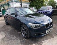 2013 BMW 1 SERIES 2.0 116D SPORT 3d 114 BHP £8499.00