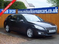 USED 2012 12 PEUGEOT 508 1.6 HDI SW ACTIVE 5d 112 BHP £30 ROAD TAX, CRUISE CONTROL