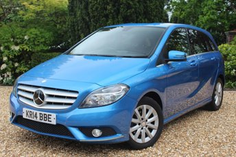 2014 MERCEDES-BENZ B CLASS 1.5 B180 CDI BLUEEFFICIENCY SE 5d AUTO 107 BHP £9489.00
