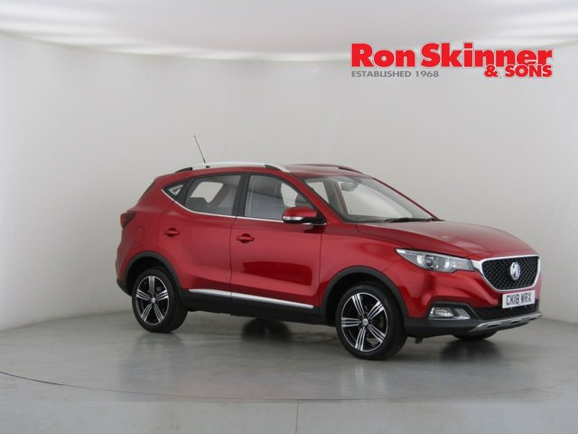View our 2018 18 MG MG ZS 1.0 EXCLUSIVE 5d 110 BHP