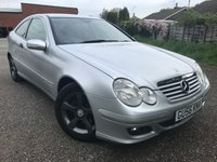 USED 2006 56 MERCEDES-BENZ C-CLASS 1.8 C180 Kompressor Sport Edition Saloon 4d 1796cc