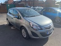 USED 2014 14 VAUXHALL CORSA 1.2 S AC S/S 5d 83 BHP 24168 MILES FROM NEW. LOW CO2 EMISSIONS, LOW INSURANCE GROUP, GOOD SPEC INCLUDING AIR CONDITIONING, AUXILIARY INPUT, ELECTRIC FRONT WINDOWS, REMOTE LOCKING. MEETS HIGHEST EMISSION STANDARDS INCLUDING THOSE FOR LARGE CITIES.