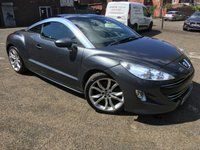 USED 2010 10 PEUGEOT RCZ 1.6THP 156 GT Coupe 2d 1598cc FSH NEW STAINLESS EXHAUST