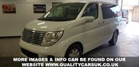 USED 2006 06 NISSAN ELGRAND 2.5 Auto New Import. Disabled Chair Lift!