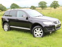 USED 2008 N VOLKSWAGEN TOUAREG  2.5 TDI DPF SE 5dr GREAT VALUE FULL HISTORY