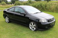 USED 2004 04 VAUXHALL ASTRA  2.0 i 16v Turbo 2dr last owner 14 years