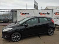 USED 2017 66 FORD FIESTA 1.0 T EcoBoost ST-Line (s/s) 5dr BLUETOOTH+1 OWNER+AIR CON