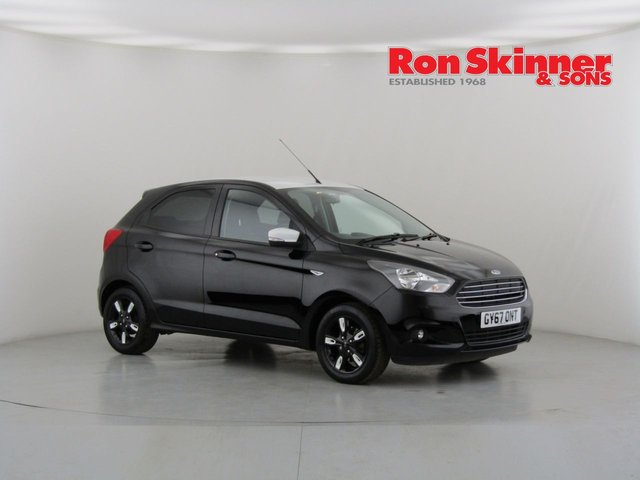 View our 2017 67 FORD KA+ 1.2 ZETEC BLACK EDITION 5d 84 BHP