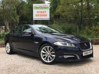 USED 2014 64 JAGUAR XF 2.2 D R-SPORT 4dr AUTO Sat Nav, Camera, Leather, PDC