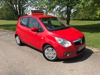 USED 2009 09 VAUXHALL AGILA 1.0 CLUB AC 5d 65 BHP Supplied With 12 Months MOT!