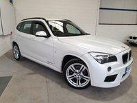 USED 2014 63 BMW X1 2.0 XDRIVE20D M SPORT 5d 181 BHP