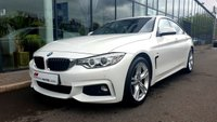 USED 2015 65 BMW 4 SERIES 3.0 430D M SPORT GRAN COUPE 4d AUTO 255 BHP FANTASTIC SPECIFICATION+GREAT VALUE FOR MONEY+SOUGHT AFTER COLOUR COMBO
