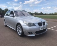 USED 2005 05 BMW 5 SERIES 3.0 530D SPORT TOURING 5d AUTO 215 BHP