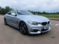 2016 BMW 4 SERIES 2.0 420D M SPORT 2d AUTO 188 BHP £20495.00