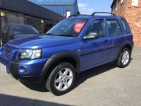2004 LAND ROVER FREELANDER 2.0 TD4 HSE STATION WAGON 5d 110 BHP £2750.00