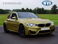 USED 2014 64 BMW M4 3.0 M4 2d 426 BHP Passed from Mother to son in the same family at the same address from new. Complete with full BMW service history and the remainder of a 5 year service plan. A stunning very fast car that sounds gorgeous and is great fun to drive.