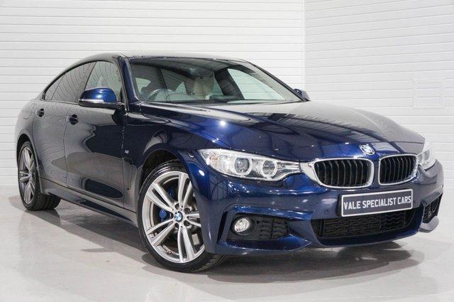 2015 15 BMW 4 SERIES 3.0 430D XDRIVE M SPORT GRAN COUPE 4d AUTO