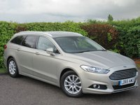 USED 2015 65 FORD MONDEO 2.0 TITANIUM ECONETIC TDCI 5d * 128 POINT AA INSPECTED * ONE OWNER FROM NEW * SATELLITE NAVIGATION *