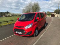 2013 FORD TRANSIT CUSTOM 2.2 290 LIMITED LOW ROOF  DOUBLE CAB  125 BHP  NO VAT £12995.00