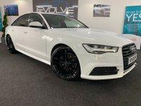2016 AUDI A6 2.0 TDI QUATTRO BLACK EDITION 4d AUTO 188 BHP £17490.00