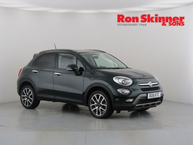 View our 2016 16 FIAT 500X 1.6 MULTIJET CROSS PLUS 5d 120 BHP