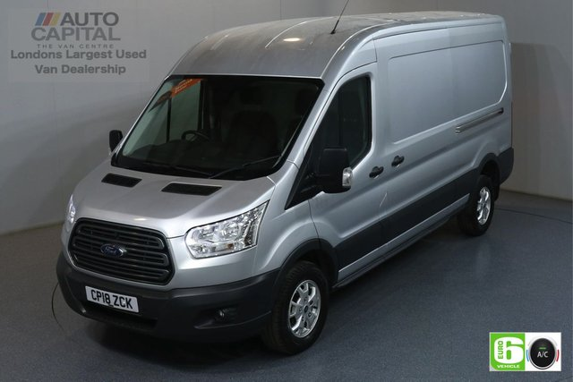 2018 18 FORD TRANSIT 2.0 350 TREND L3 H2 LWB 129 BHP RWD EURO 6 AIR CON MANUFACTURER WARRANTY UNTIL 18/07/2021