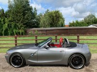 "USED 2003 A BMW Z4 2.5 Z4 ROADSTER 2d 190 BHP XENONS RED LEATHER 19"" WHEELS FULL HISTORY"