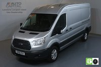 USED 2018 18 FORD TRANSIT 2.0 350 TREND L3 H2 LWB 129 BHP RWD EURO 6 ENGINE AIR CON, FRONT-REAR PARKING SENSORS