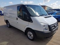 USED 2012 62 FORD TRANSIT 2.2 280 LR 1d 99 BHP NO VAT TO PAY
