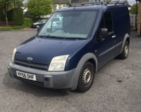 USED 2006 56 FORD TRANSIT CONNECT 1.8 T200 L SWB 1d 74 BHP