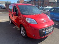 USED 2015 65 FIAT QUBO 1.2 MULTIJET MYLIFE 5d 80 BHP WITH AIR CONDITIONING AND ALLOY WHEELS!..EXCELLENT FUEL ECONOMY!...LOW CO2 EMISSIONS..LOW ROAD TAX....ONLY 10648 MILES FROM NEW! ALL OUR VEHICLES MEET LARGE CITY EMISSIONS!
