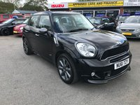 USED 2012 62 MINI COUNTRYMAN 1.6 COOPER D 5 DOORS 112 BHP BLACK 35K MILES FULL SERVICE HISTORY GREAT CONDITION Opening hours are 9.00am – 6.00pm Mon to Sat and 10.30am-5pm Sun. We also have an after hours sales mobile number 07484 929716 for calls or texts.  All major credit/debit cards accepted. Finance and Warranties are available.  Approved Cars make it our business to try to get you a good deal on your purchase & if you require finance we can help no matter what your financial situation.