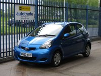 USED 2010 60 TOYOTA AYGO 1.0 VVT-I BLUE 3d 67 BHP