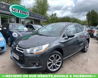 2014 CITROEN DS4 1.6 E-HDI AIRDREAM DSTYLE 5d 115 BHP £5989.00