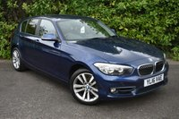 USED 2016 16 BMW 1 SERIES 2.0 118D SPORT 5d AUTO 147 BHP LEATHER
