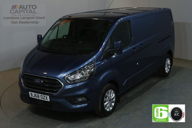 2018 68 FORD TRANSIT CUSTOM 2.0 300 LIMITED L2H1 AUTO 170 BHP LWB AIR CON EURO 6 START STOP AIR CONDITIONING EURO 6 LTD