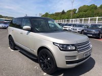USED 2013 Y LAND ROVER RANGE ROVER 4.4 SDV8 VOGUE 5d 339 BHP Opening panoramic roof, DualView, side steps, 4 zone climate +++
