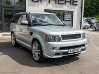 USED 2010 10 LAND ROVER RANGE ROVER SPORT 3.6 TDV8 SPORT HSE 5d 269 BHP FACTORY OVERFINCH
