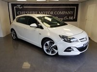 2014 VAUXHALL ASTRA 1.4 LIMITED EDITION 5d 140 BHP + FULL LEATHER INTERIOR £6475.00