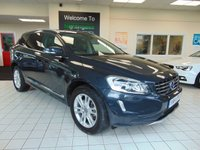 USED 2014 14 VOLVO XC60 2.4 D5 SE LUX NAV AWD 5d AUTO 212 BHP FULL HISTORY + APRIL 2020 MOT + SATELLITE NAVIGATION + BLUETOOTH + CRUISE CONTROL + AIR CONDITIONING + ALLOYS + DAB RADIO + PRIVACY GLASS + FULL LEATHER TRIM + HEATED SEATS + REMOTE LOCKING + ELECTRIC WINDOWS
