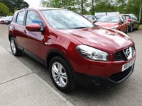 USED 2013 13 NISSAN QASHQAI 1.6L ACENTA 5d 117 BHP Excellent family car, very spacious and in great condition.