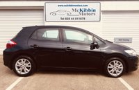 USED 2012 TOYOTA AURIS 1.4 COLOUR COLLECTION D-4D