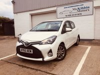 USED 2015 TOYOTA YARIS 1.4 D-4D ICON