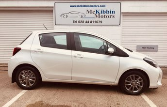 2015 TOYOTA YARIS 1.4 D-4D ICON  £7945.00