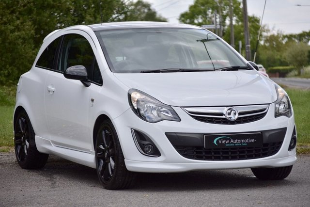 2014 64 VAUXHALL CORSA 1.2 LIMITED EDITION 3d 83 BHP