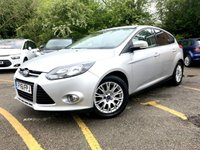 2011 FORD FOCUS 1.6 TITANIUM 5d 150 BHP TURBO, ONLY 67K SERVICE HISTORY,  £5690.00