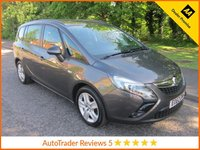 USED 2012 62 VAUXHALL ZAFIRA TOURER 2.0 EXCLUSIV CDTI ECOFLEX S/S 5d 128 BHP Great Value Vauxhall Zafira Tourer  with Seven Seats, Low Mileage, Air Conditioning, Cruise Control and Service History.