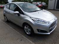 USED 2016 66 FORD FIESTA 1.0L ZETEC 3d 99 BHP Excellent condition - LOW Miles -Great Value CAT N status